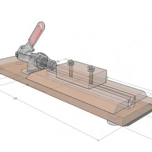 pen assembly press