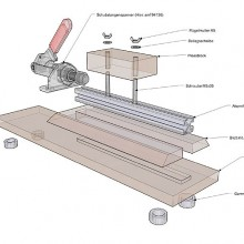 pen assembling press
